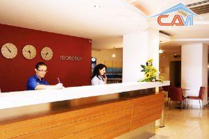 Vệ sinh khách sạn ở phố Núi Trúc, Ba Đình, Hà Nội